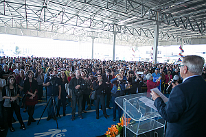 Giassi inaugura Combo Atacadista em Araranguá